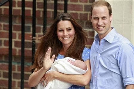 The bookies were right! William and Kate name new royal heir George