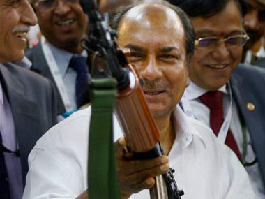Antony must talk to the Chinese in the language they understand: PTI