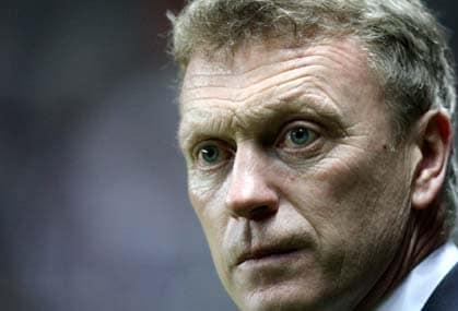 The enormity of managing Manchester Untied is sinking in for David Moyes. AP