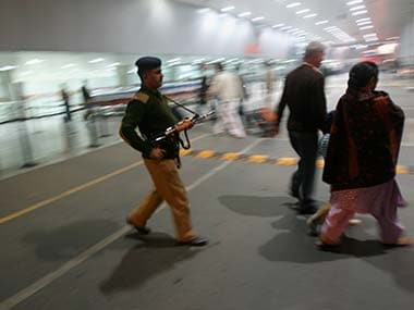 Security staff at Delhi airport. Image used for representational purposes only. Reuters