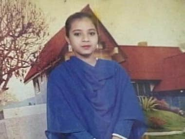 File photo of Ishrat Jahan: CNN-IBN