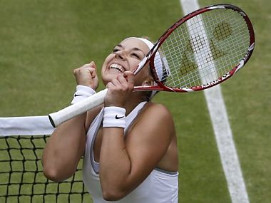 Lisicki has been the darling of the fans. AP