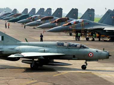 The Indian Air Force has been unable to replace the MiG 21. AFP