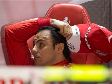 Felipe Massa has struggled to score points this season. AP