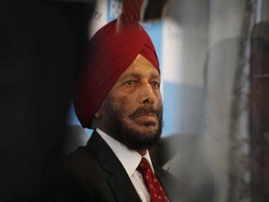 Milkha Singh is arguably India's greatest ever track athlete. Getty Images