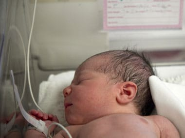 File image of a new born child. Reuters