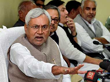 The timing of this tragedy is inopportune but that is Nitish's problem: PTI