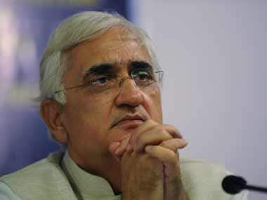 Salman Khurshid in this file photo. AFP