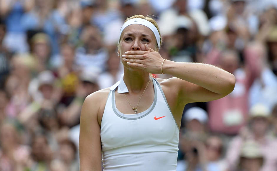 After the loss, Williams said: Come on, guys, let's get with it. She's excellent. She's not a pushover. And in the post-match interview, Lisicki was still shaking with joy. It was an emotional win. REUTERS/Toby Melville