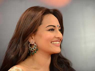 Sonakshi Sinha in this file photo. AFP