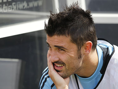 Was David Villa every truly happy at Barcelona? Reuters