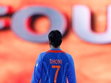 Dhoni's friend Santosh Lala was the one who taught him the helicopter shot. Reuters