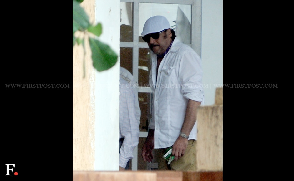 Jackie Shroff at the memorial service. Firstpost