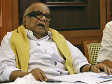 Demand for SSCP not aimed at publicity, says Karunanidhi