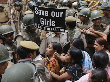 Protests against rape. Reuters.