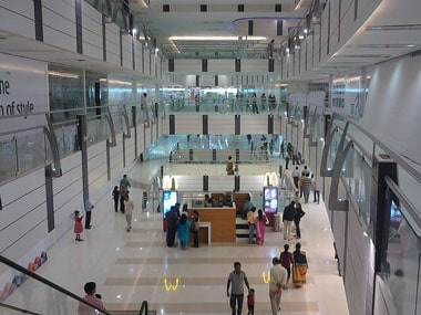Avani Riverside Mall in Howrah that got the BEE rating. Wikimedia Commons.