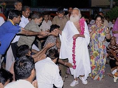Self-styled godman Asaram Bapu. PTI
