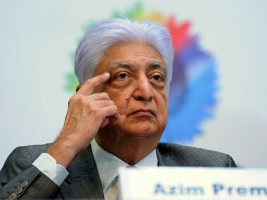 Wipro Chairman Azim Premji's salary drops 63% to $1,21,853 in FY17, CEO Neemuchwala's up 16% to $2.09 mn
