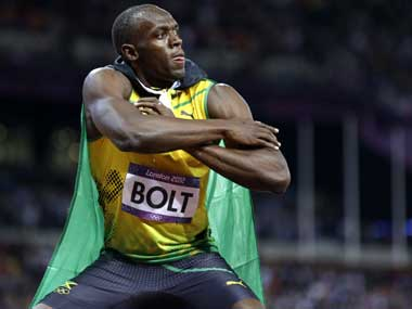 There is no stopping Usain Bolt. AP