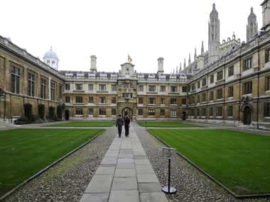 File image of The University of Cambridge. Reuters