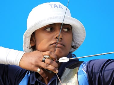 Deepika Kumari's coach, XXX, is one of the five people nominated. Getty Images