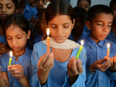 This image of school students is used for representational purposes only. AFP.