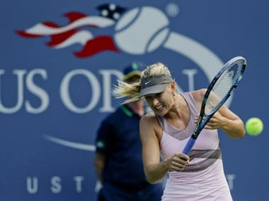 Maria Sharapova will not be seen at this year's US Open. AP