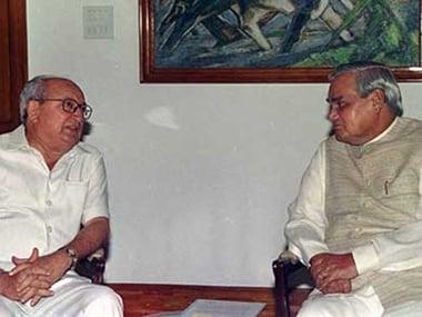 Romesh Bhandari with Atal Vihari Vajpayee. Image: PIB