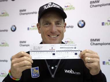 Bmw Championship Jim Furyk Makes History With 59 Surges Into Co Lead Firstpost