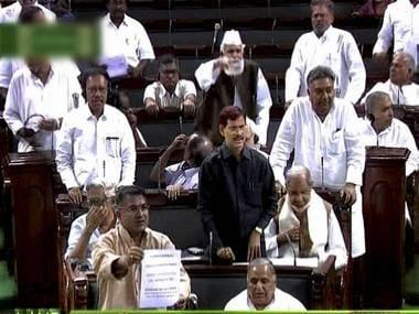 The Lok Sabha in session: PTI