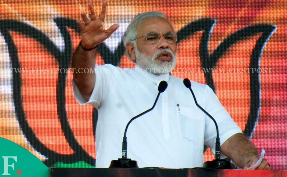 Narendra Modi also said that he believed that the PM was insulted by Nawaz Sharif. Naresh Sharma/Firstpost.