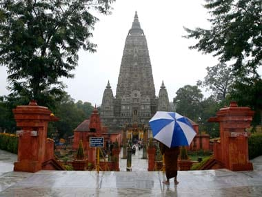 The Mahabodhi Temple. Reuters