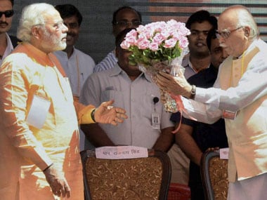 No bouquets for Modi just yet? PTI
