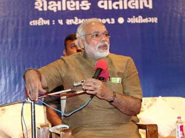 Modi has declared that he has no ambitions about being the Prime Minister. PTI