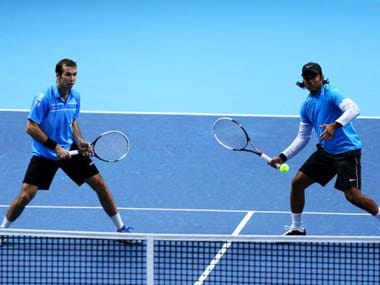 Leader Paes and Radek Stepanek were taken to three sets by their opponents. AP