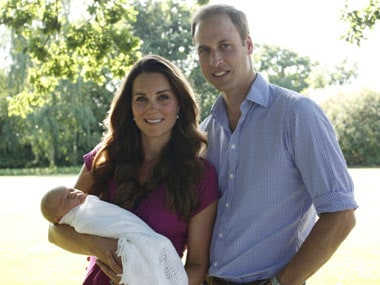 Kate and William's Prince George to be christened on October 23