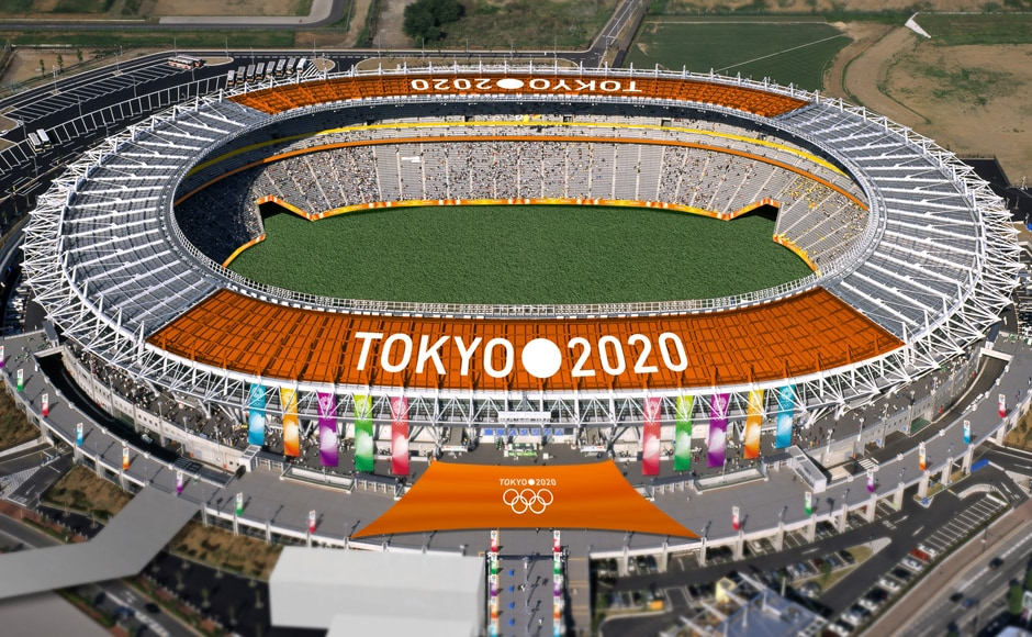 The Tokyo Stadium, one of the proposed Olympic stadiums for the 2020 Summer Olympic games, is seen in this computer-generated file handout image provided by the Tokyo 2020 Bid Committee. Reuters.