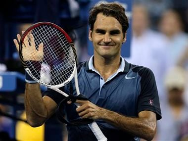 Roger Federer has looked very good so far. AP