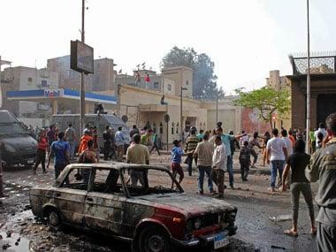 Car crash in southern Egypt kills 11