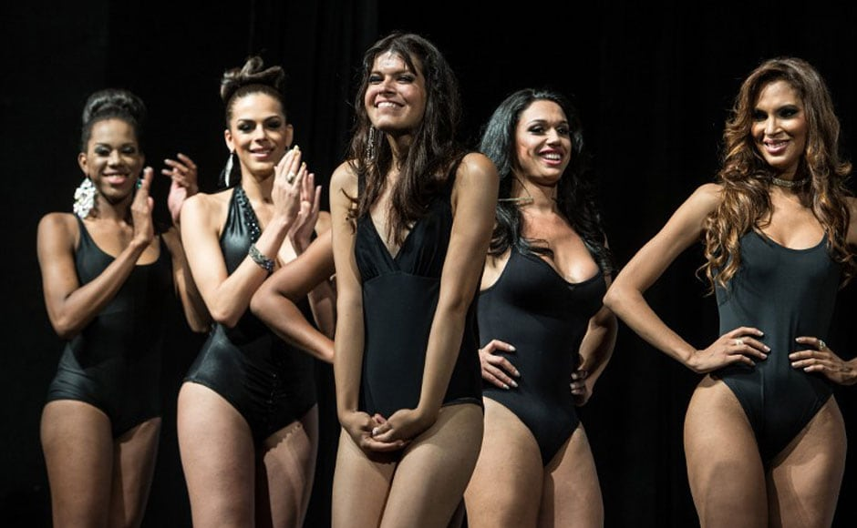 Transvestite beauty pageant in phillipines