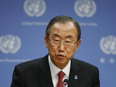 United Nations Secretary General Ban ki-Moon. Reuters