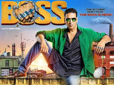 The poster for Boss