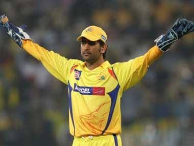 File image of MS Dhoni during his stint with Chennai Super Kings. AFP