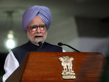 Prime Minister Manmohan Singh in this file photo. PTI