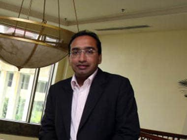 Sameer Nair, former Star TV executive joined the AAP. Pic: IBNLive