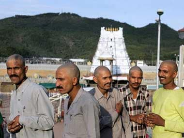 Tirupati temple board issues notice to 44 non-Hindu employees, wants them redeployed; tilak now mandatory for workers