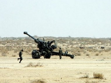 A file image of Indian army soldiers preparing to fire a Bofors gun. (Representational image). AFP