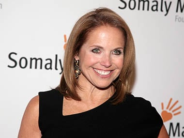 Yahoo names Katie Couric global news anchor