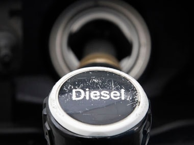 Diesel price hiked by 50 paise, petrol rates unchanged