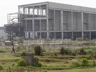 An incomplete Tata project in Singur. Reuters